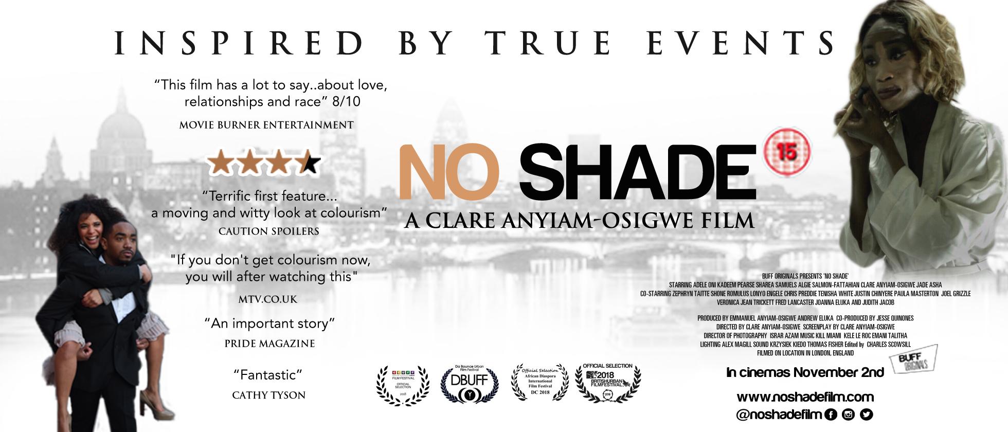 No shade New poster 2